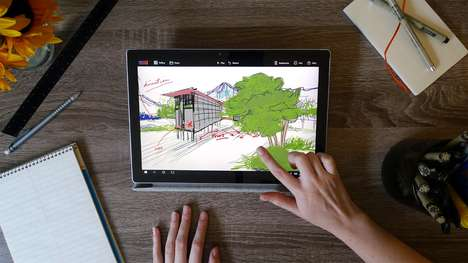 Deep 3D Sketching Apps - 'Mental Canvas' Lets Users Add Depth to Their 2D Sketches