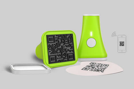 QR Code Data Devices - The QR Code Smart Seal Enables Users to Distribute Data Easily