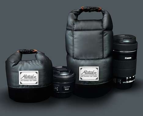 Insulated Photography Lens Bags