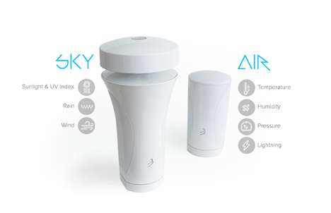 Data-Tracking Weather Stations - The 'WeatherFlow' Device Provides Precise Weather Updates