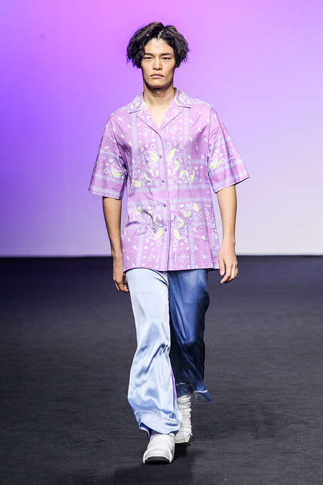 Pop-Art Vacation Menswear - The New KIMMY.J Collection Includes Gawdy Button-Ups and Bold Graphics