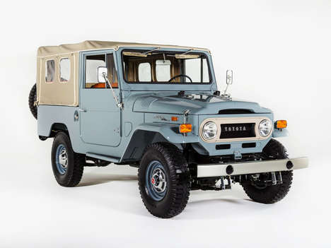 Rugged Vehicle Restoration Companies - 'The FJ Company' Restores Vintage Toyota FJ Land Cruisers