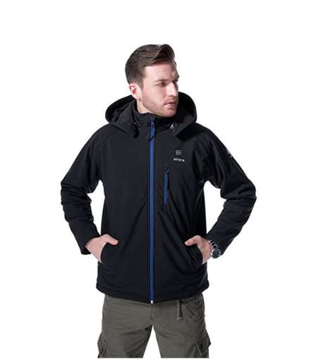 Heated Activewear Jackets - The ORORO Heated Men's Winter Jacket Operates for Up to Eight Hours