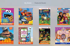 Televised Storybook Apps - Apple's StoryTime for tvOS Brings Kids' Books to the Television