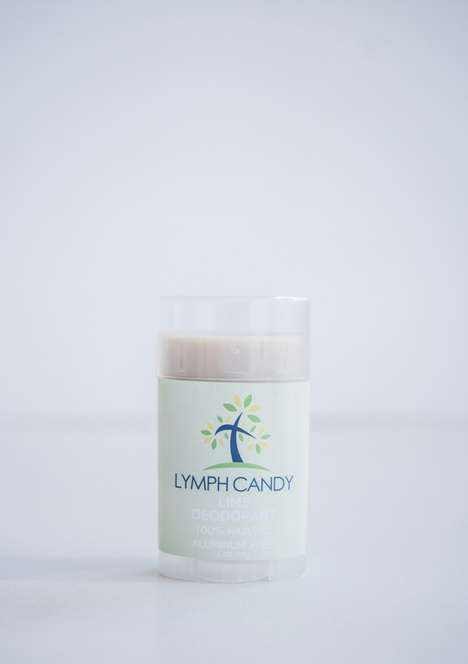 Lymphatic Health Deodorants - These Non-Toxic Deodorants Consist of Only Six Different Ingredients