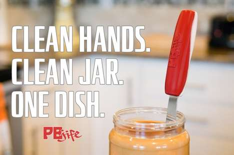 Mess-Free Condiment Utensils - The 'PBJife' is a Specialty Knife That Helps Eliminate Sticky Fingers