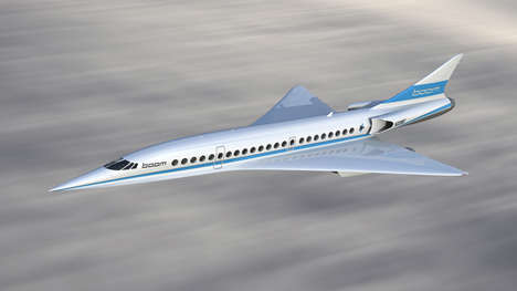 Revived Supersonic Airlines - 'Boom' Hopes to Succeed in Place of Concorde with Supersonic Aircraft