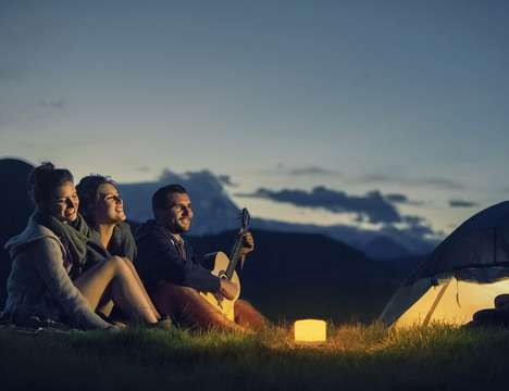Wireless Mood Lights - The 'LUCIS' Portable LED Light is Customizable to Different Preferences