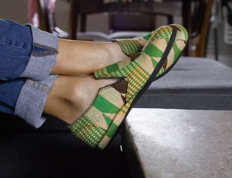 Handcrafted Ghanaian Footwear - Kwame Baah Traditional Shoes Support Artisans in Ghana