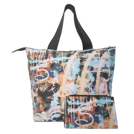 Urban Art Tote Bags - C-Starz Offers a Selection of Carriers That are Inspired by Graffiti