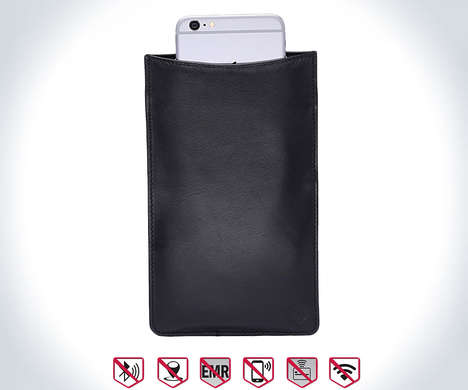 Signal-Blocking Smartphone Cases - The Silent Pocket Privacy Protection Cases Ensures Total Privacy