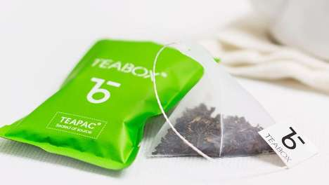 Individually Packaged Tea Bags - Teabox TeaPacs are Sealed at the Source to Maintain Freshness