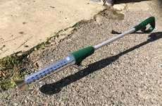 Weed-Burning Gardener Devices - The 'Heatweed' Weeding Tool Kills Weeds with Heat Not Chemicals