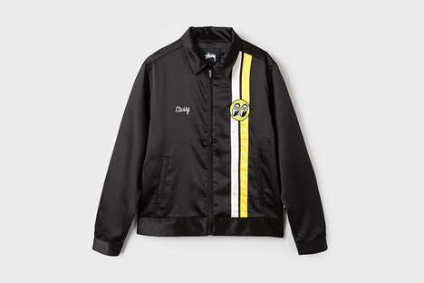 Motorsport-Inspired Streewear - This New Stussy Collection Draws from Car Culture in California
