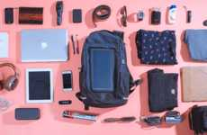 Solar-Powered Smart Backpacks - The 'Energy Sac' Backpack is a Bag for the Modern-Day Worker