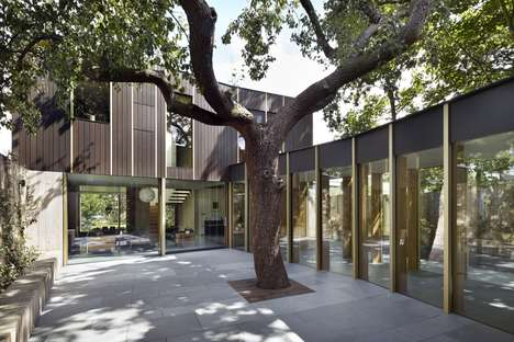 Orchard-Preserving Family Homes - Edgley Design's 'Pear Tree House' Protects a 100-Year-Old Tree