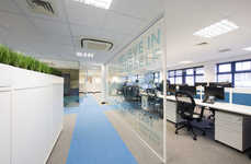 Celebratory Office Interiors - The 'Powerday' Office Was Designed to Attract and Retain Talent