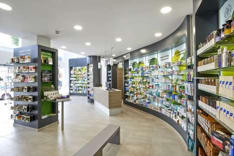 Environmental Pharmacy Designs - This Pharmacy Forgoes Traditional Sterile Designs