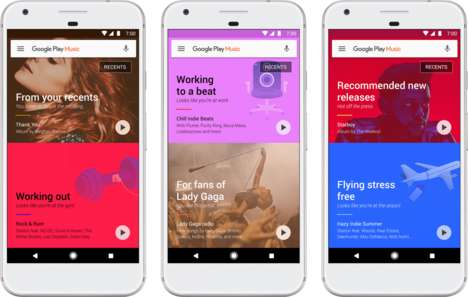Automatic Context-Dependent Playlists - Google Play Playlists will Choose Songs Based on Context