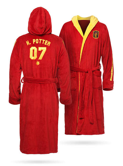 Fantasy Sports Robes - The 'Eye of the Lion' is a Boxer's Robe for Quidditch from 'Harry Potter'