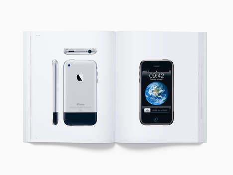 Branded Tech Photography Books - 'Designed by Apple in California' Photographs 20 Years of Products