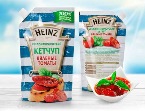 Sun-Dried Tomato Condiments - The Kraft Heinz Company Has a New Ketchup Flavor for Summer