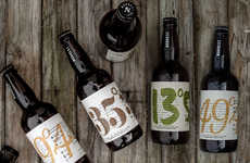 Geographic Beer Branding - Noroest Cerveja is Offering Beer Marked by Geographic Coordinates