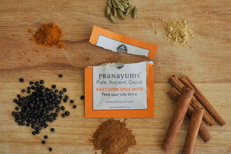 Ayurvedic Spice Packets - Pranayums Sachets Offer Super Spices from the Ayurvedic Tradition
