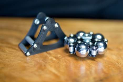 Professional Focus-Oriented Toys - The 'Sphidget' Spinner Toy Offers Something to Fidget With