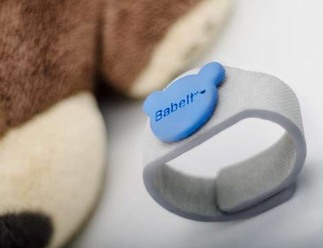 Real-Time Infant Trackers - The 'Babelt' Baby Bracelet Keeps Track of Infant Health in Real-Time