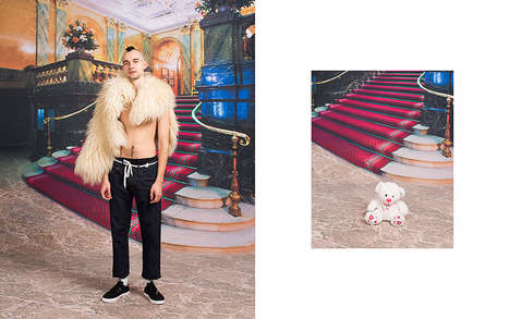 Surreal Ukrainian Lookbooks - The New Syndicate Collection Was Presented with Fable-Like Imagery