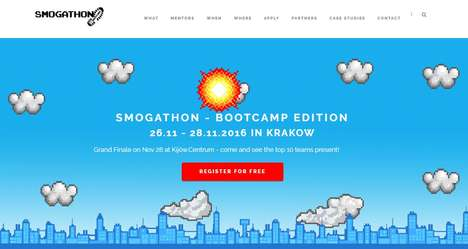 Smog-Fighting Hackathons - 'Smogathon' Aims to Reduce Smog in the City of Krakow