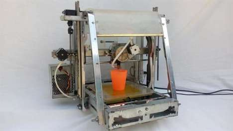 Waste-Made 3D Printers - This 3D Printer is Made Entirely from Repurposed Electronic Waste