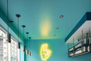 This Vibrant Snack Bar Design Brings a Taste of India to Montreal