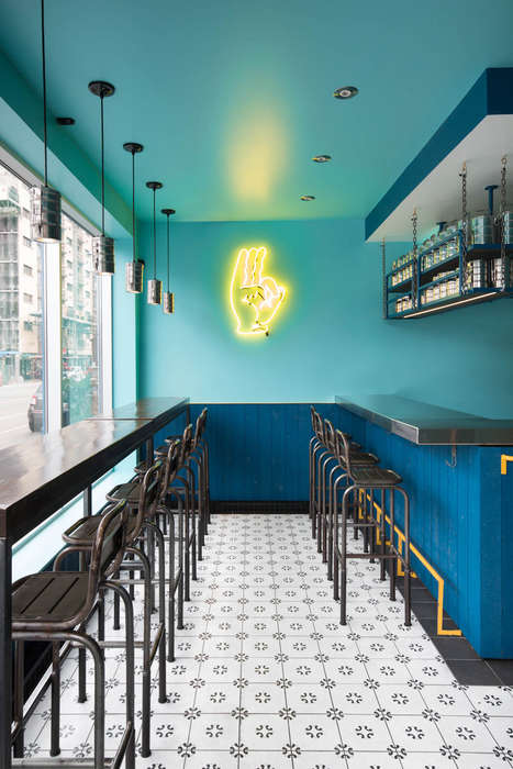 Indian-Inspired Snack Bars - This Vibrant Snack Bar Design Brings a Taste of India to Montreal
