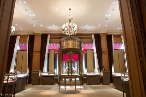 Exclusive Jewelry Mansions - The Cartier Mansion in NYC Was Refurbished for Private Shopping