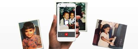 Hybrid Photo-Scanning Apps - Google's 'PhotoScan' Turns Multiple Images of Prints into a Hybrid Scan