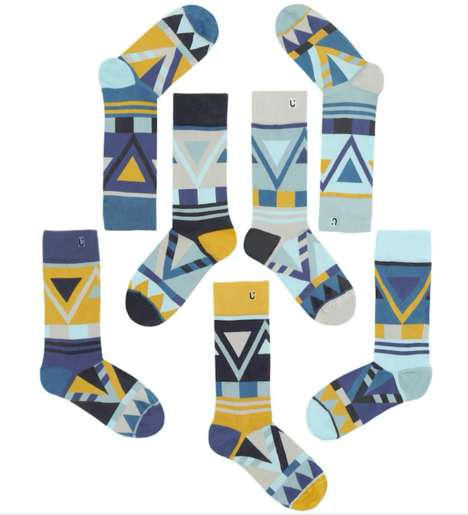 Individualized Eco Sock Collections - 'Solosocks' Were Designed to Be Mixed and Matched