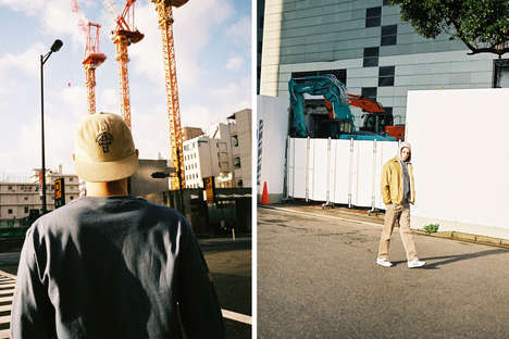 Tokyo-Branded Streetwear - SAYHELLO's Fall/Winter Series Was Presented with an Urban Editorial