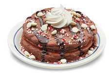 Chocolate Peppermint Pancakes - IHOP is Offering Christmas Pancakes for the Holiday Season