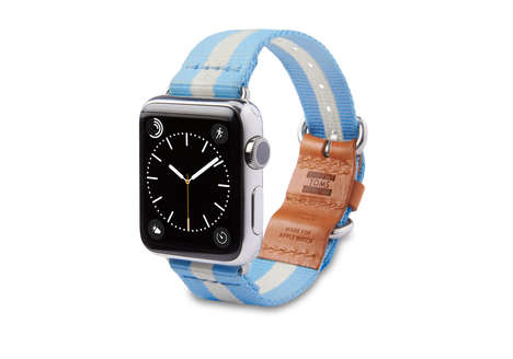Charitable Smartwatch Bands - TOMS Apple Watch Bands Provide for People in Need