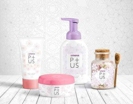 At-Home Botanical Spa Products - This Skincare Collection Was Created to Allow Users to Unwind