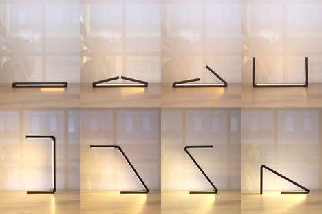 Modular Articulated Lamps - CNVS Designs' 'Liminal' Lighting Unit Adapts to Any Use