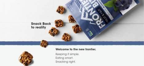 Bite-Sized Energy Snacks - The New Frontier Bites Provide Consumers with a Healthy Boost of Energy