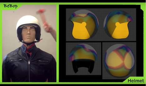 Emergency Response Helmets - The Bebop Helmet Sensor Can Automatically Call an Ambulance