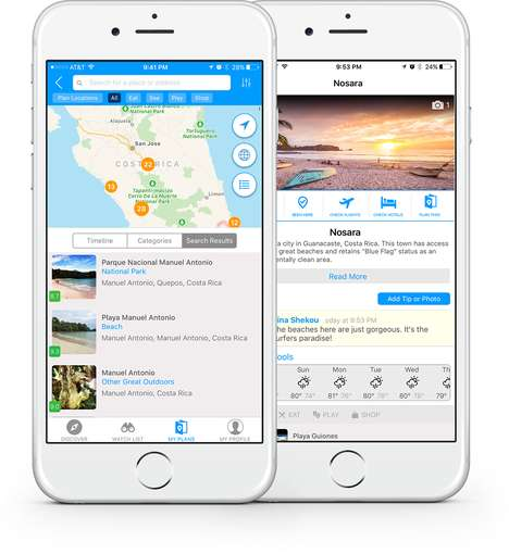 Travel Planning Messaging Apps - This Comprehensive Site Provides a Platform to Organize Trips