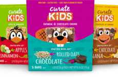 Child-Sized Snack Bars - The 'Curate Kids' Snack Bars are Made for Smaller Appetites