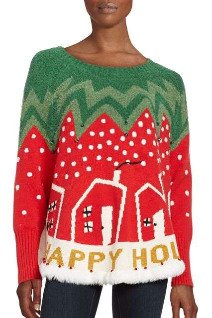 Unsightly Holiday Sweater Collections - Whoopi Goldberg's Holiday Sweaters are Delightfully Garish