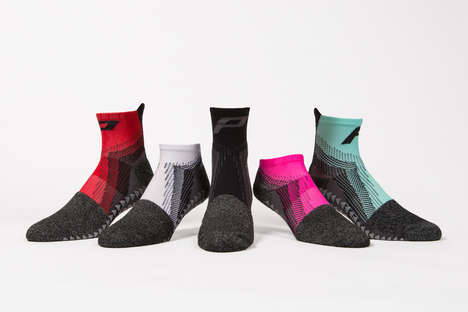 Performance-Boosting Socks - These Socks Aim to Optimize Comfort and Abilities During Sports
