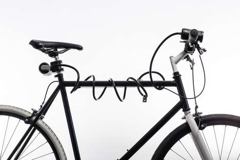 Lockable Bike Lights - Lemurlock Protects Bike Lights From Getting Stolen or Damaged